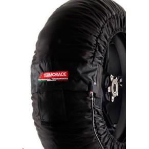 Paire de couvertures chauffantes TERMORACE ADVANCED (température 90°C) SUPERMOTARD /250 GP