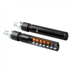 Clignotants Line SQ avant à LED séquentiels et feu de position Lampa