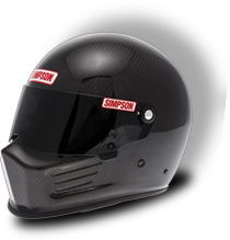 Casque SIMPSON bandit carbone